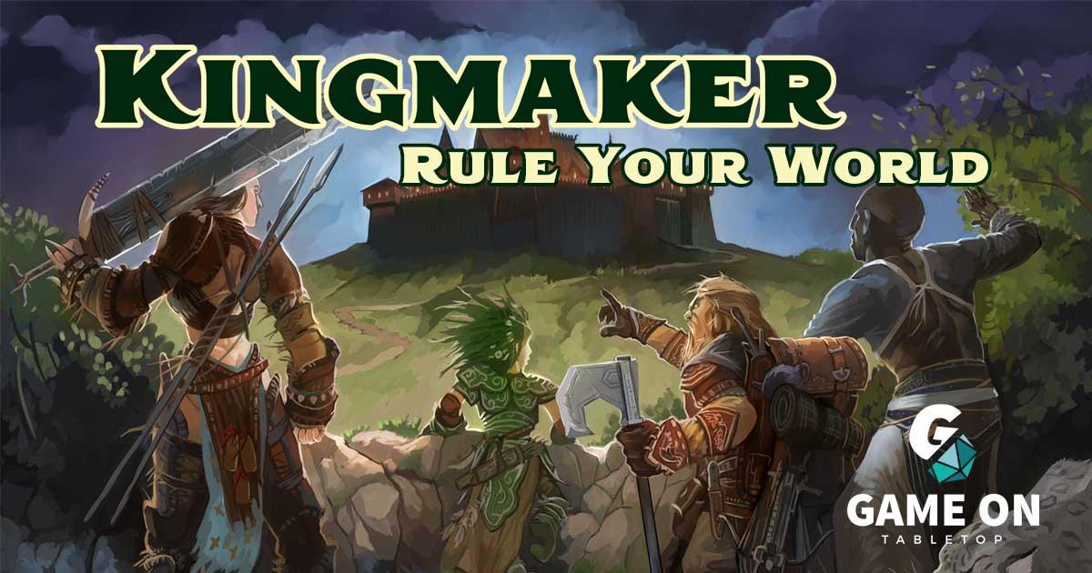 Kingmaker 10th Anniversary (Paizo Inc ) • Game On Table Top