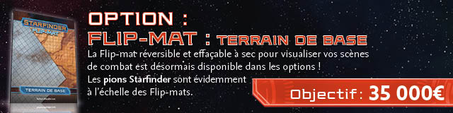 Option : Flip-Mat Terrain de base
