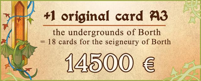 +1 A3 card