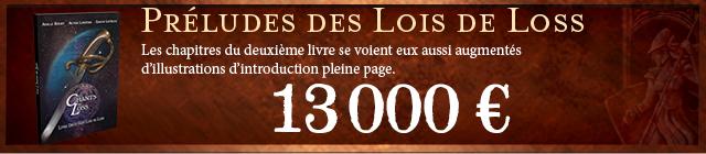 Préludes des Lois de Loss (Livre II)