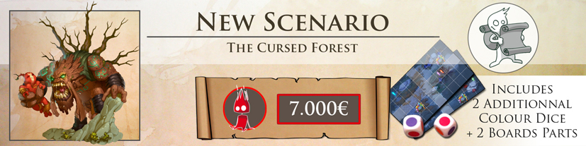New scenario : The Cursed Forest