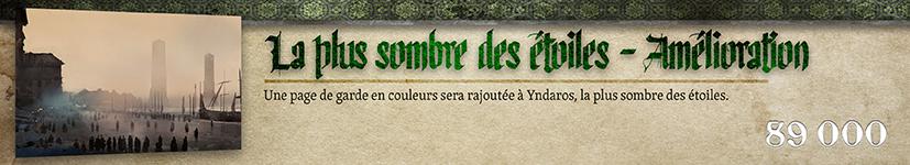 Amélioration Yndaros : Page de garde