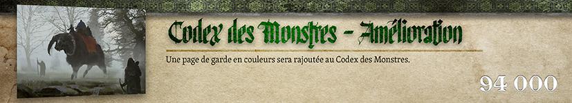 Amélioration Monstres : Page de garde