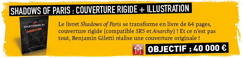 Shadows of Paris en couverture rigide !