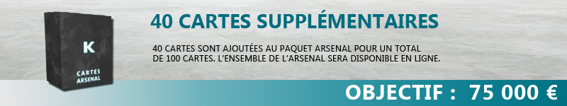 40 cartes arsenal supplémentaires