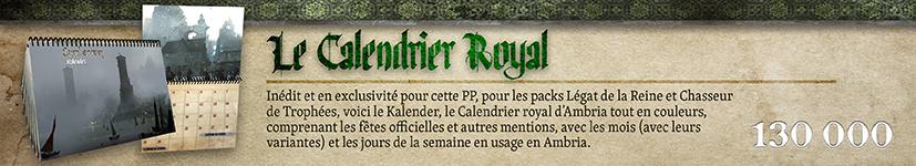 Calendrier Royal