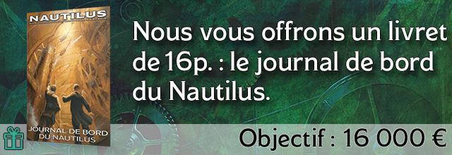 Palier 5 : Le journal de bord du Nautilus