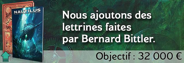 Palier 14 :Nous ajoutons des lettrines faites par Bernard Bittler.
