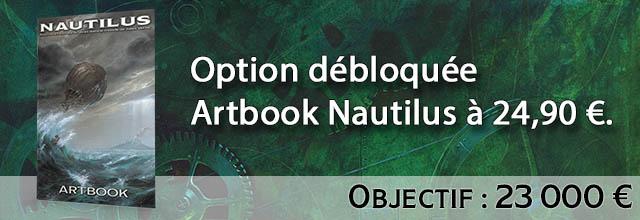 Palier 9 : option Artbook du Nautilus