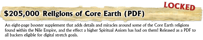 Religions of Core Earth