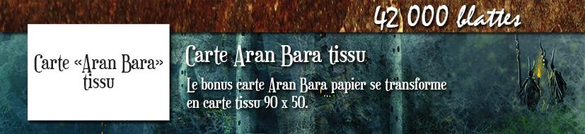 Carte Aran Bara tissu