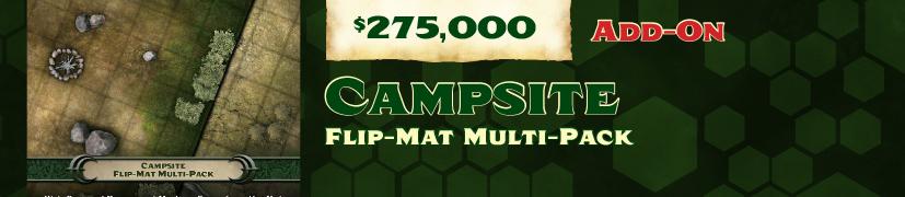 Unlock: Flip-Mat 2-pack #2 Campsites