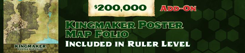 Unlock: Kingmaker Map Folio
