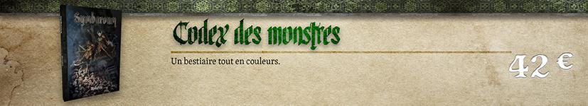 Codex des monstres