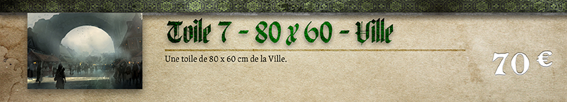 Toile 07 Ville - 80 x 60