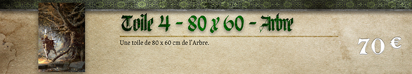 Toile 04 Arbre - 80 x 60