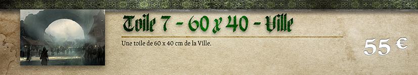 Toile 07 Ville - 60 x 40