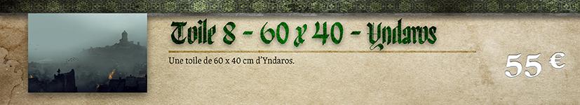 Toile 08 Yndaros - 60 x 40