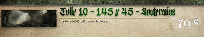 Toile 11 - Souterrains 145 x 45