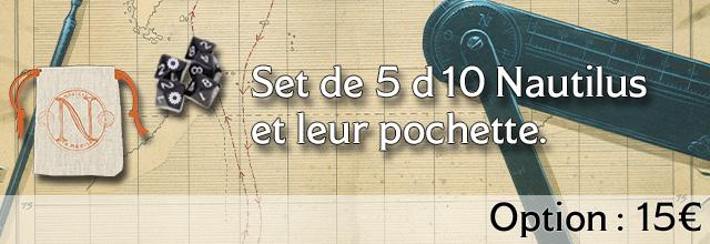 Set de 5D10 Nautilhus