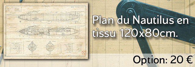 Plan en tissu du Nautilus
