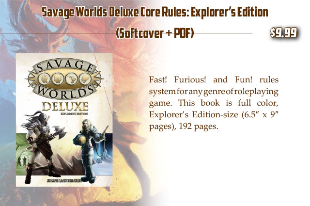 Savage Worlds Explorers Edition Pdf