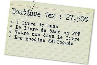 Offre boutique 1ex : 1 LDB
