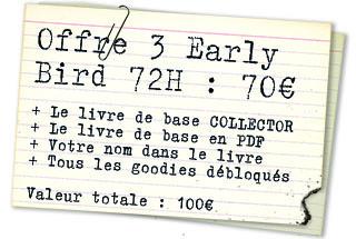 Offre 3 EarlyBird 72H : Collector exclusif La Chute de DELTA GREEN