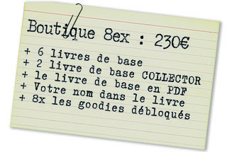 Offre boutique 8ex : 6 LDB + 2 LDB collector