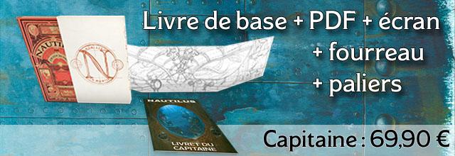 Capitaine (Livre de base + Fourreau + Ecran + Paliers)