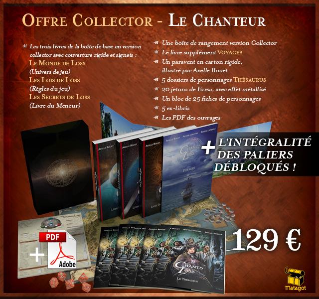 Offre Collector - Le Chanteur