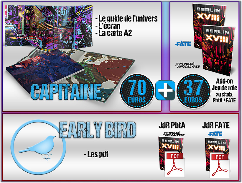 Capitaine (Early Bird)