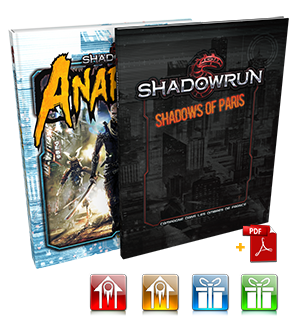 Offre n°2 : Anarchy + Shadows of Paris