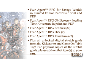 The Goon™ and Fear Agent™ RPGs for Savage Worlds (Pinnacle