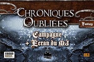 Chroniques Oubliées Fantasy • Campagne + Écran du MJ
