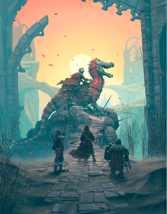 background Die Verbotenen Lande - Fantasy-Rollenspiel in einer offenen Welt