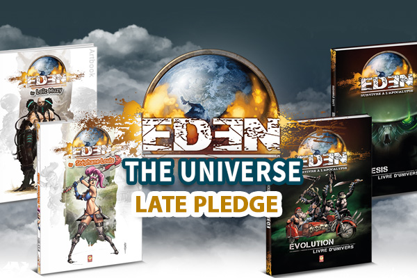 Pledge Manager and Late Pledge : Eden Genesis & Evolution - Universe books