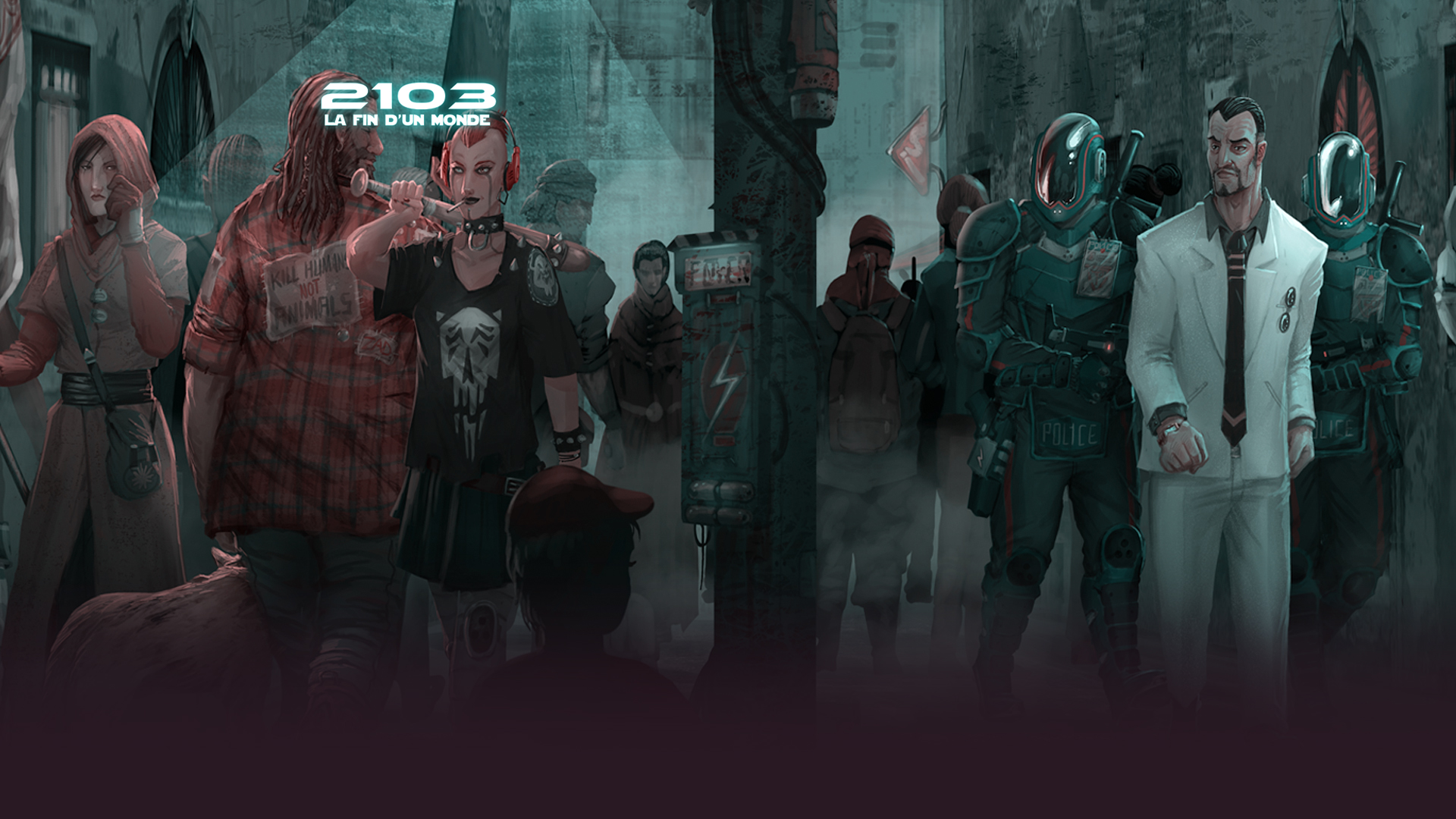 background 2103 - La fin d'un monde