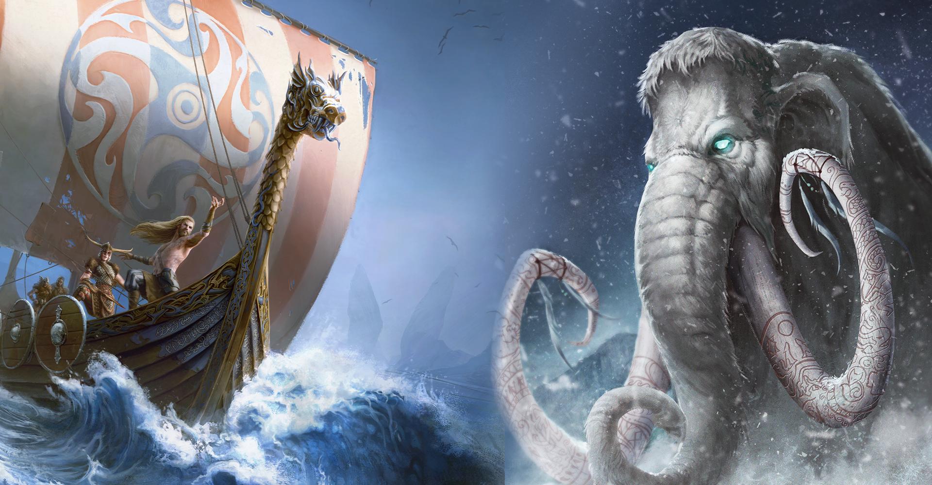 background Die Gestade des Gottwals – Thorwal und das Gjalskerland
