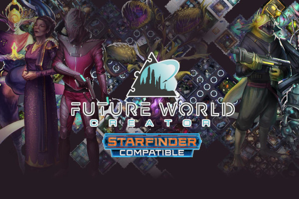 Future World Creator: Modular tiles, tools and App for Starfinder and every tabletop Sci-fi RPG