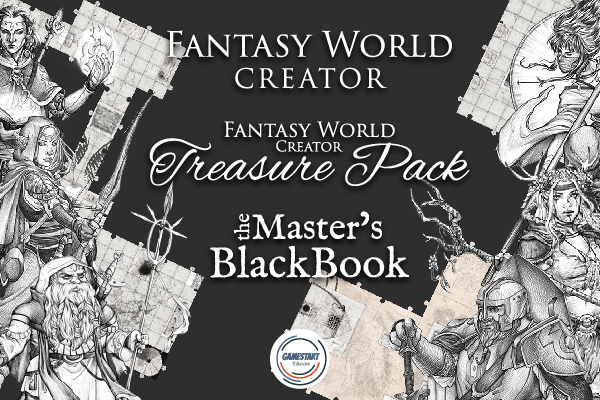Fantasy World Creator: Modular tiles, tools and App for DnD and every tabletop RPG
