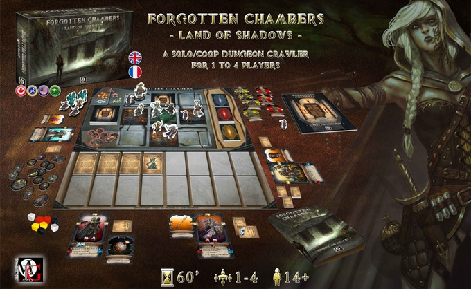 background Forgotten Chambers : Land of Shadows