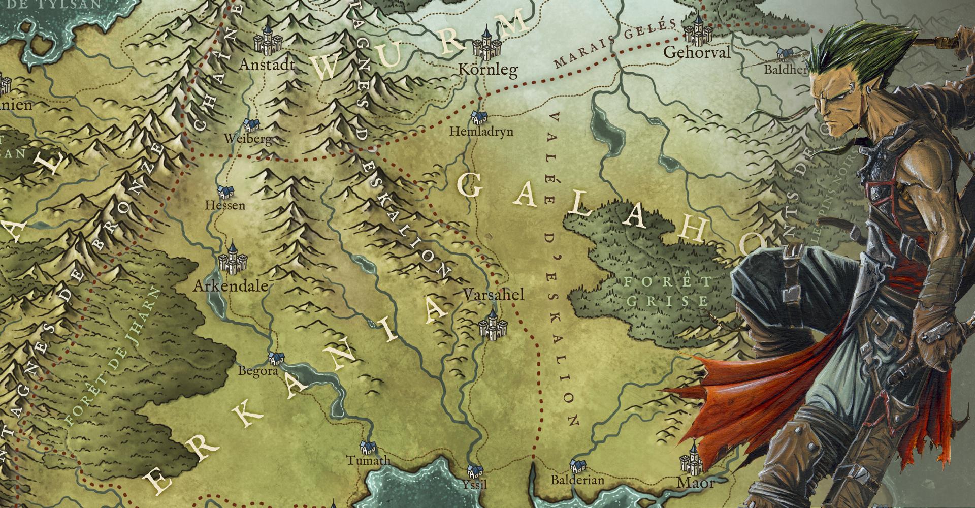 background Lieux d'aventures & Maze Rats