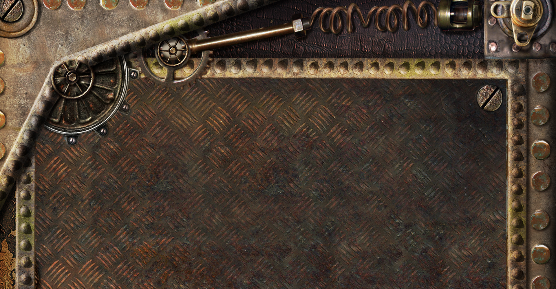 background Abstract Aventures Steampunk
