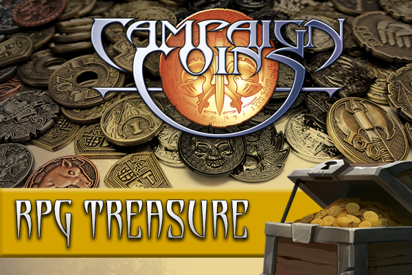 RPG Treasure by Campaign Coins