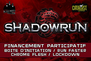 Shadowrun • Boîte d'initiation + Run faster