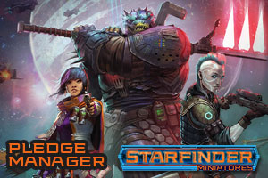 Starfinder Miniatures Pledge Manager