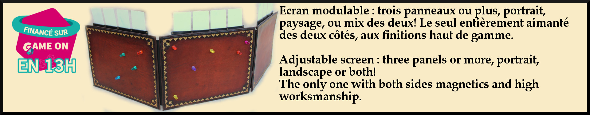 Écran modulable