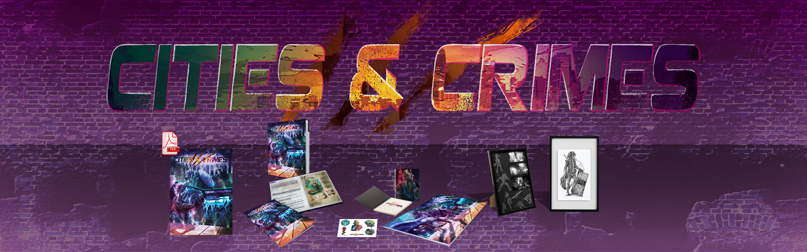 Cities and crimes (Cities and Crime) • Game On Table Top
