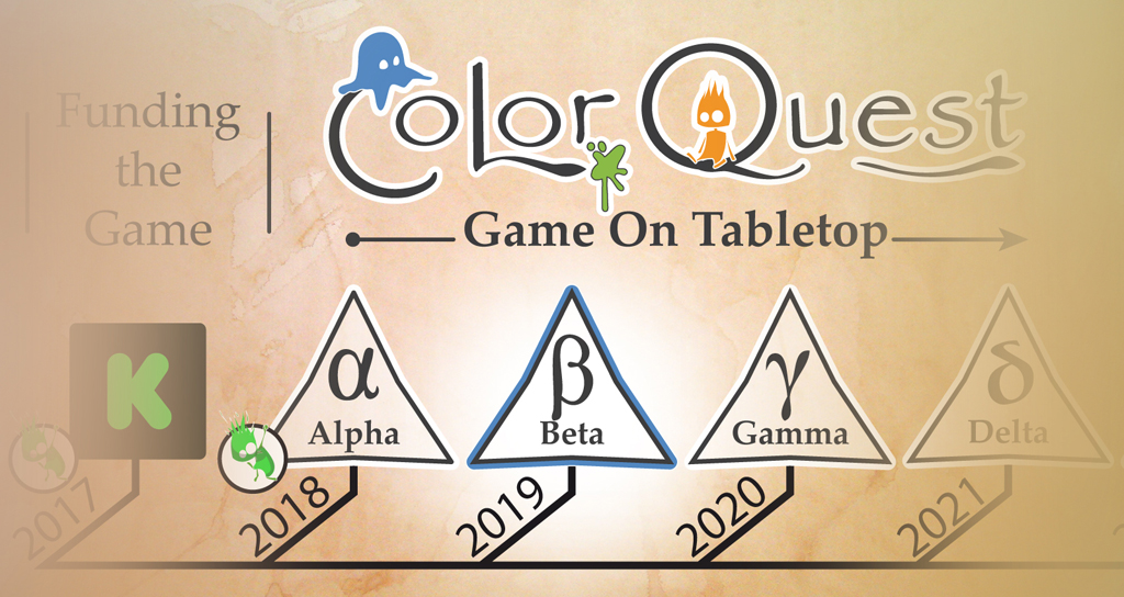 Color Quest Beta Fluo Craft Game On Table Top